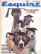 Esquire  Sep 1,1974 Magazine