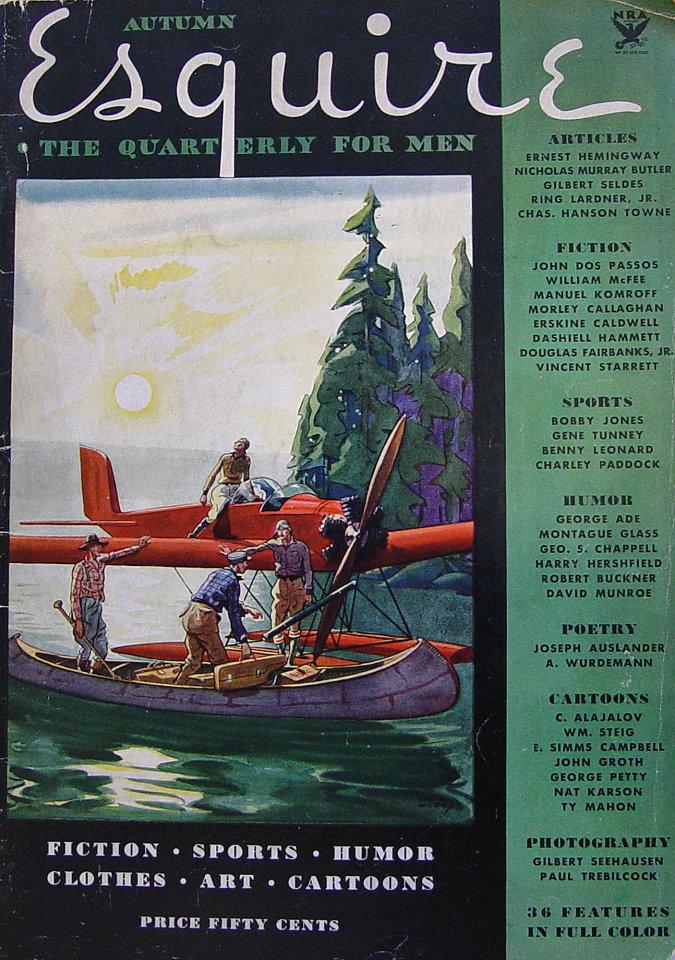 Esquire Vol. 1 No. 1