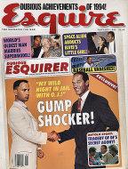 Esquire Vol. 123 No. 1 Magazine