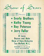 Everly Brothers Program