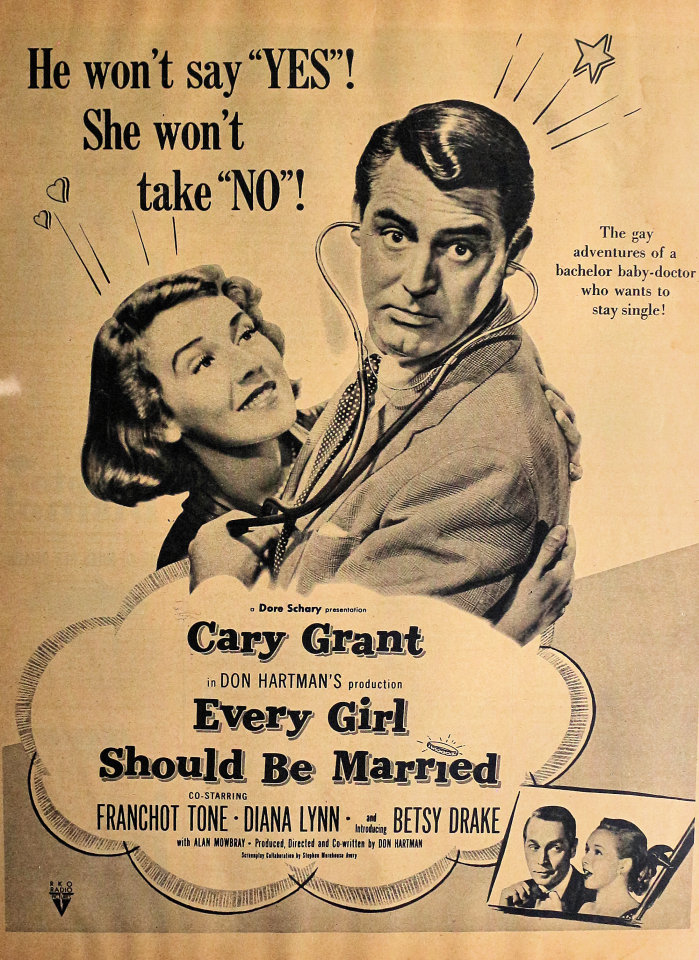 Every Girl Should Be Married Vintage Ad