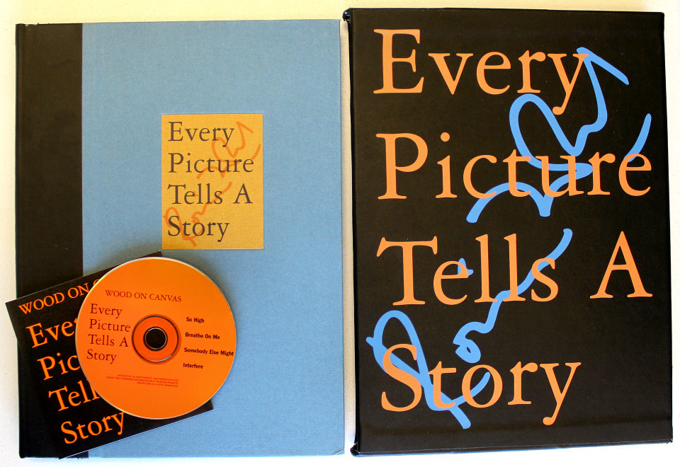 Every Picture Tells A Story: Wood on Canvas
