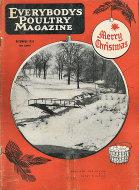 Everybody's Poultry Magazine December 1951 Magazine