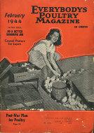 Everybody's Poultry Magazine February 1944 Magazine