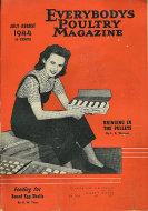 Everybody's Poultry Magazine July 1944 Magazine