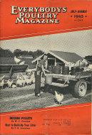 Everybody's Poultry Magazine July 1945 Magazine