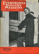 Everybody's Poultry Magazine March 1951 Magazine
