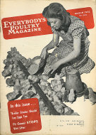 Everybody's Poultry Magazine March 1952 Magazine