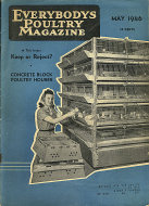 Everybody's Poultry Magazine May 1946 Magazine