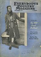 Everybody's Poultry Magazine November 1943 Magazine
