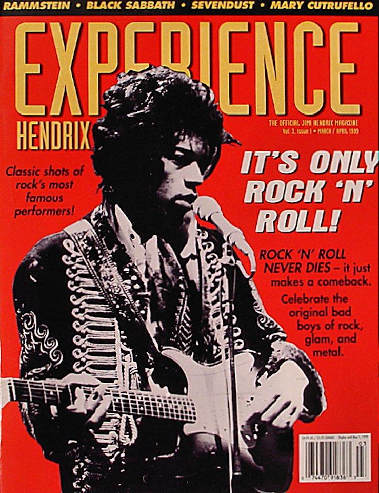 Experience Hendrix Vol. 3 No. 1 Magazine