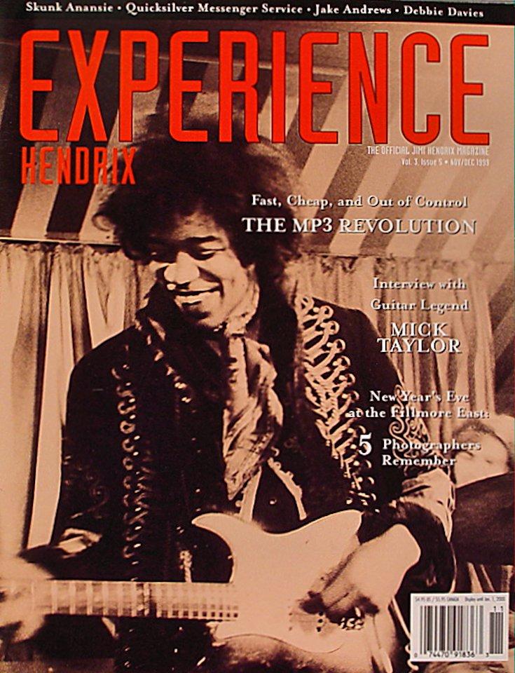 Experience Hendrix Vol. 3 No. 5 Magazine