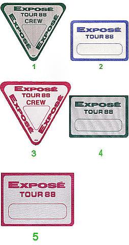 Expose Backstage Pass
