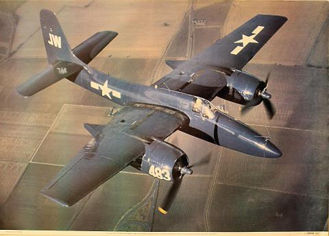 F7F-3 Tigercat Poster