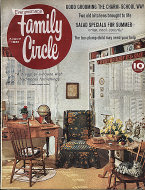 Family Circle Aug 1,1961 Magazine