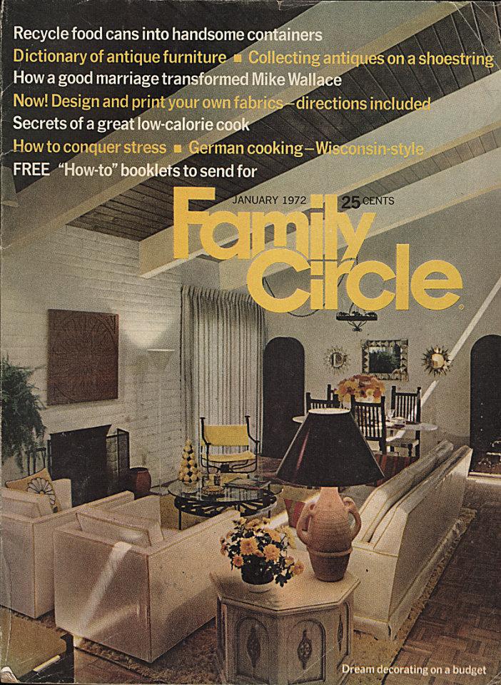 Family Circle Jan 1,1972