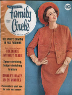 Family Circle Sep 1,1961 Magazine