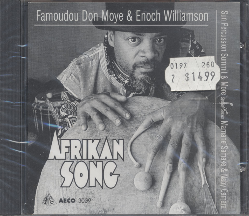Famoudou Don Moye & Enoch Williamson CD