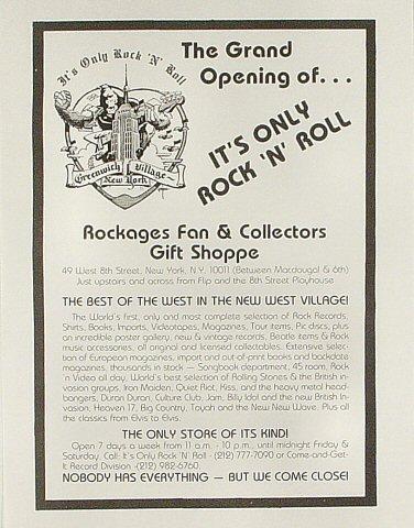 Fan and Collectors Gift Shoppe Handbill