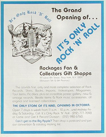 Fan and Collectors Gift Shoppe Program