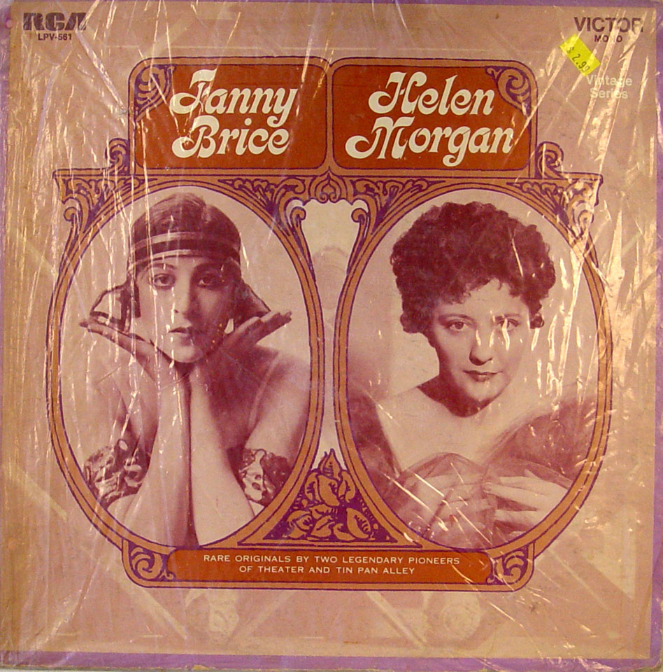 "Fanny Brice / Helen Morgan Vinyl 12"""