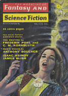 Fantasy and Science Fiction Vol. 43 No. 5 Magazine