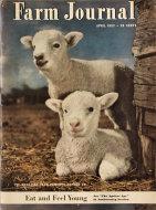 Farm Journal Magazine April 1952 Magazine