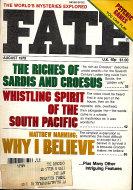 Fate Vol. 32 No. 8 Magazine
