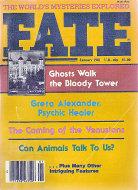 Fate Vol. 34 No. 1 Magazine
