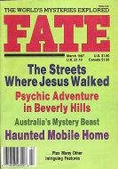 Fate Vol. 40 No. 3 Magazine