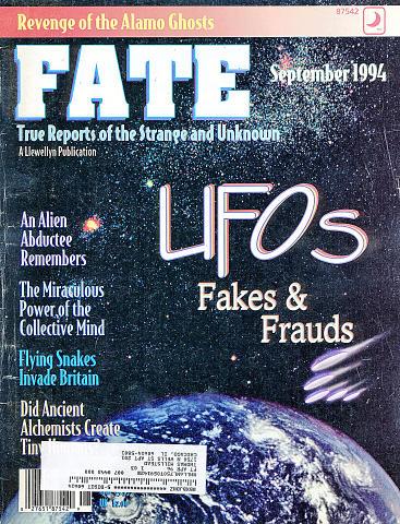 Fate Vol. 47 No. 9 Issue 534 Magazine