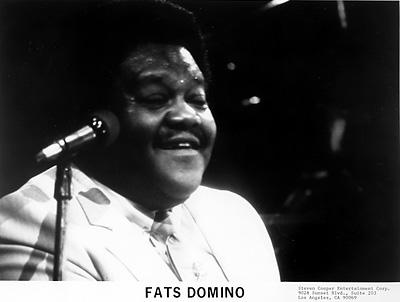 Fats Domino Promo Print
