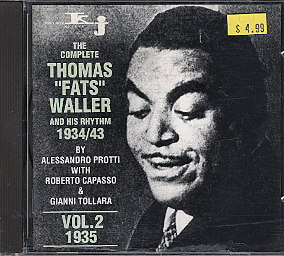 Fats Waller And His Rhythm CD