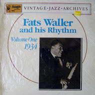 "Fats Waller Vinyl 12"" (New)"