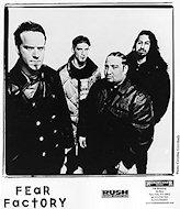 Fear Factory Promo Print