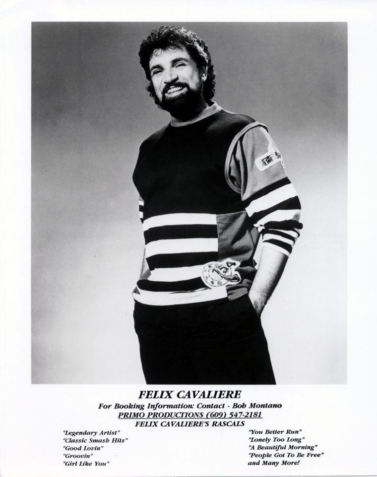 Felix Cavaliere Promo Print