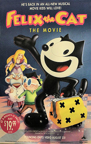 Felix The Cat: The Movie Poster