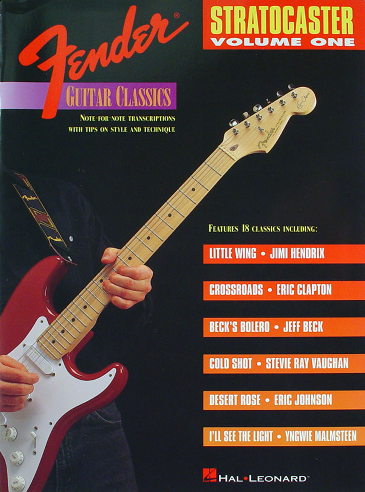 Classic Book Cover Guitar : Fender guitar classics stratocaster volume one book