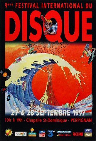 Festival International Du Disque Poster
