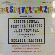 "Festival Jazz Volume Four Vinyl 12"" (New)"