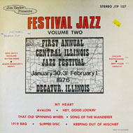 "Festival Jazz: Volume Two Vinyl 12"" (Used)"