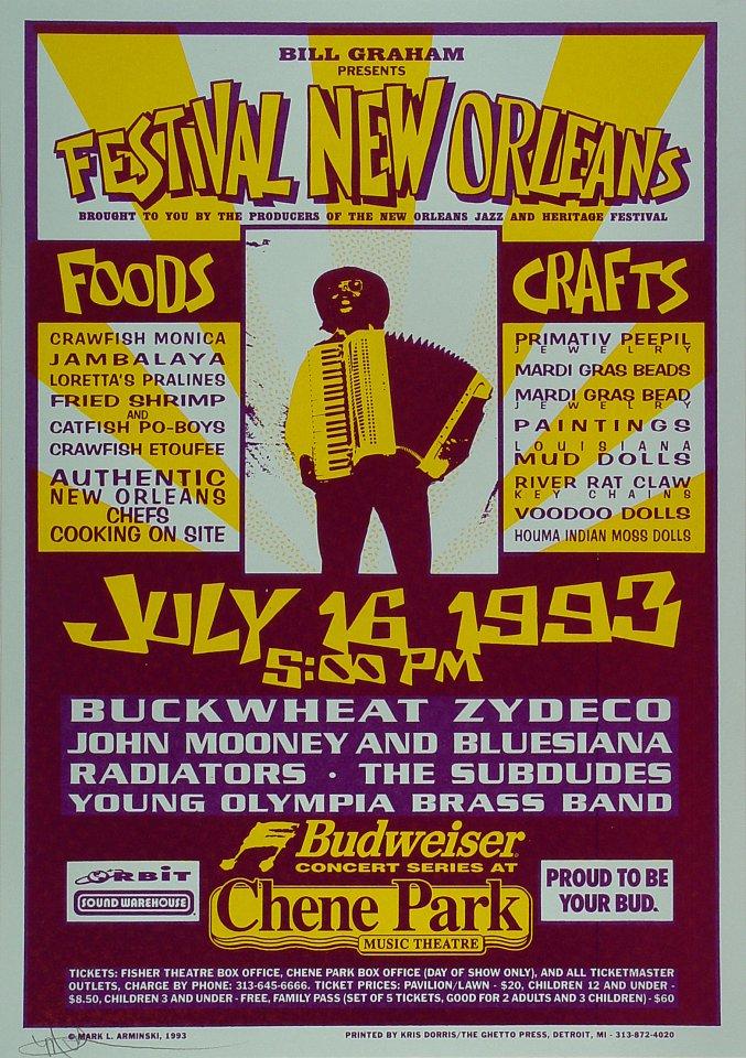 Festival New Orleans Poster