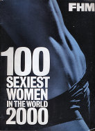 FHM Sexiest Women in The World 2000 Magazine