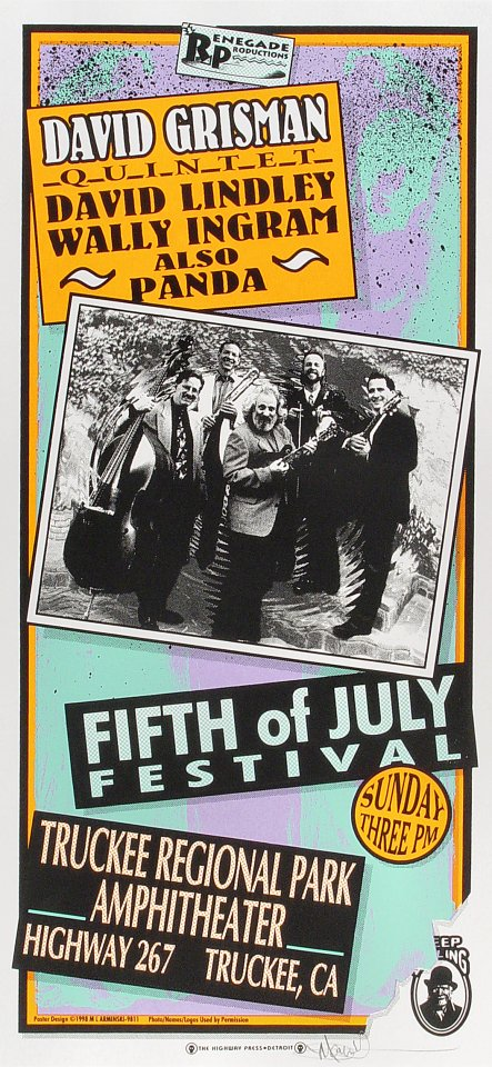 Fifth of July Festival Poster