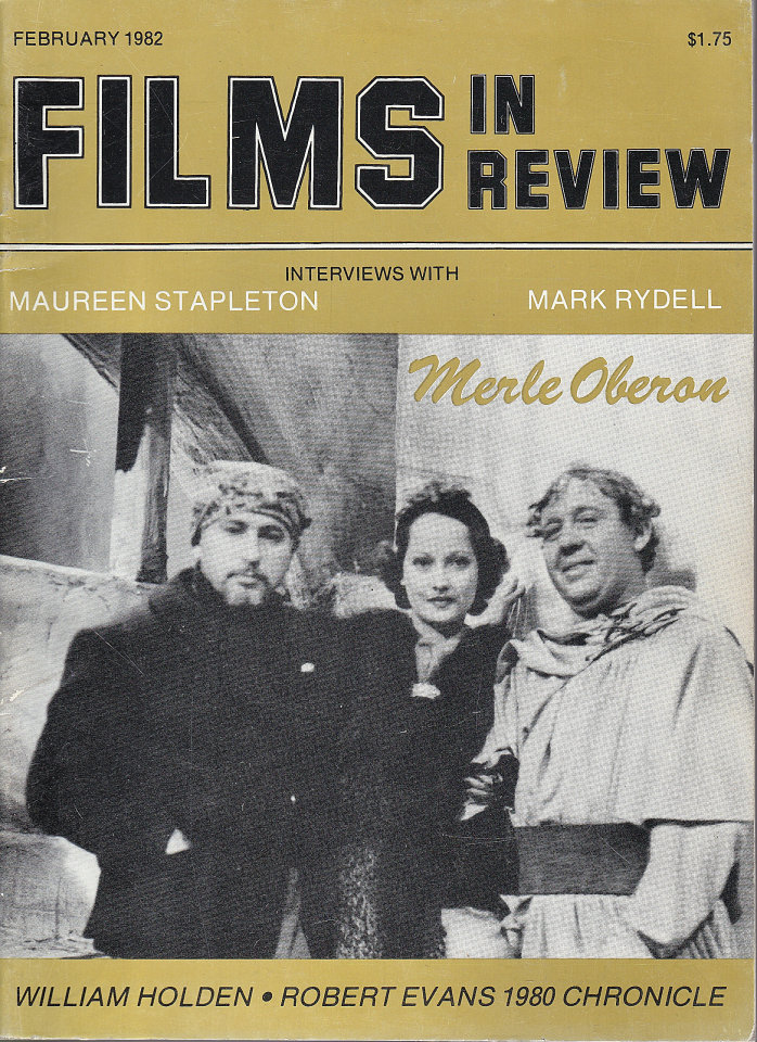 Films In Review Feb 1,1982