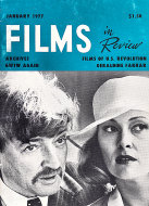 Films In Review Jan 1,1977 Magazine