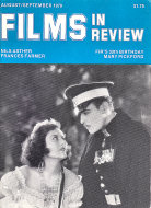 Films In Review Magazine August 1979 Magazine