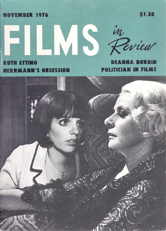 Films In Review Nov 1,1976