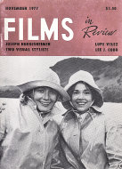 Films In Review Nov 1,1977 Magazine