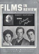 Films In Review Nov 1,1980 Magazine